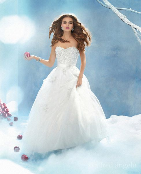 Disney Princess Wedding Dresses by Alfred Angelo