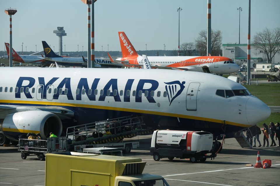 Ryanair And EasyJet Airplanes