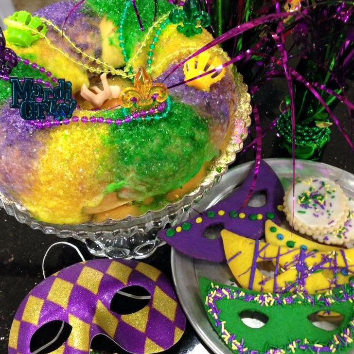 Strange Where To Buy King Cakes For Mardi Gras In Dfw Birthday Cards Printable Nowaargucafe Filternl