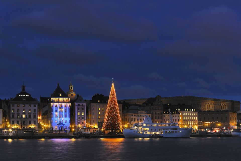 Stockholm, Sweden at Christmas