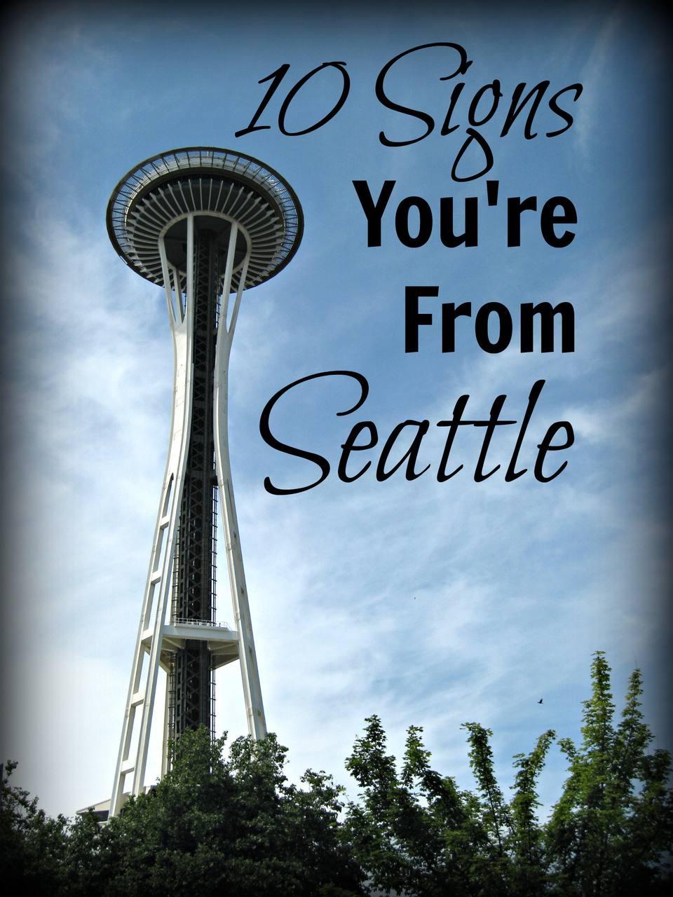 10 signos de que eres de Seattle