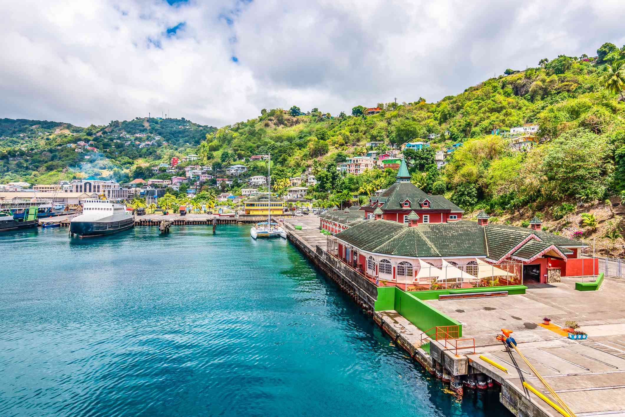Port of Kingstown, St. Vincent and the Grenadines
