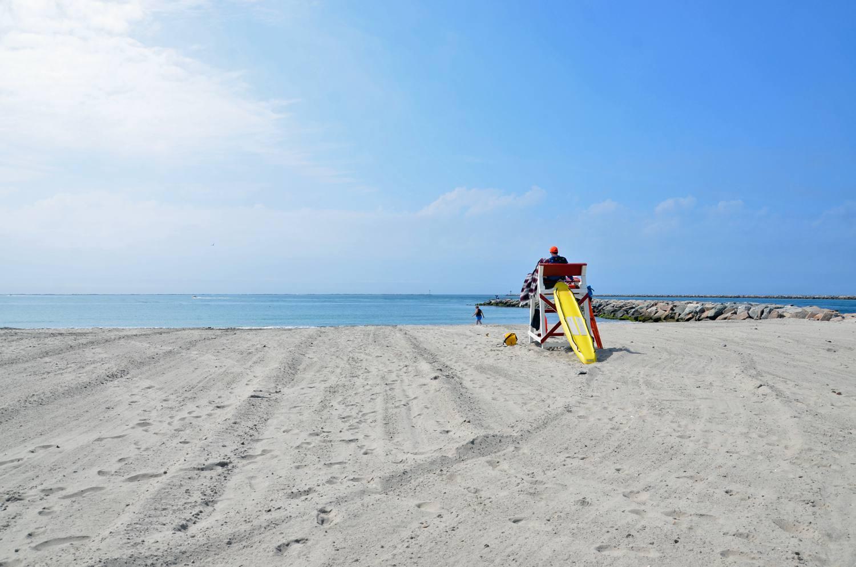 Salty Brine State Beach In Galilee Rhode Island