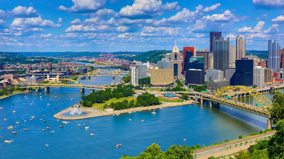 Antena Pittsburgh Skyline