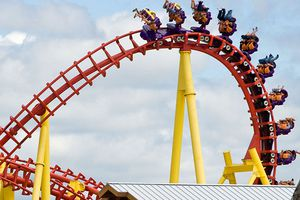 Michigan's Adventure roller coaster