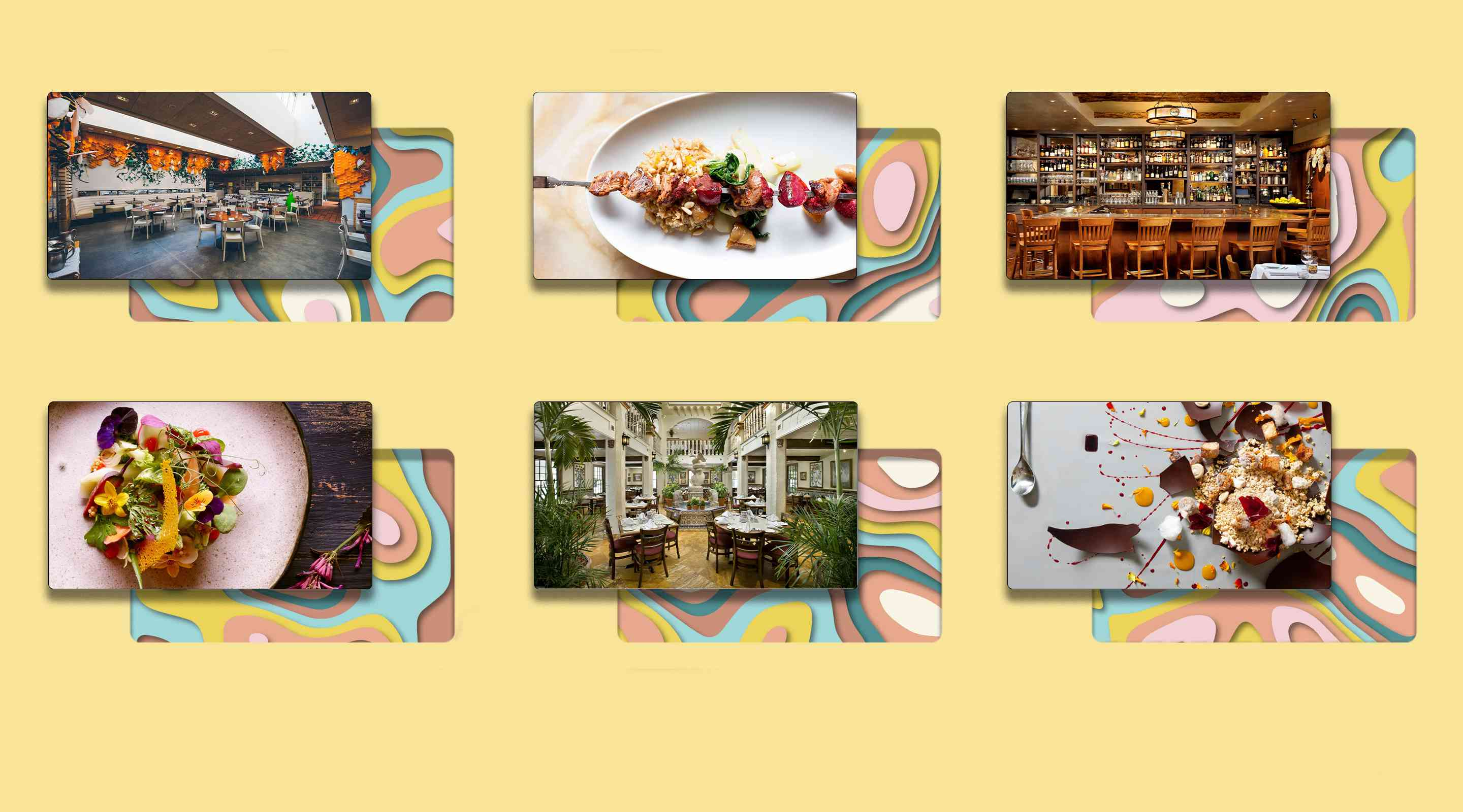 Collage of restaurants mentioned in article