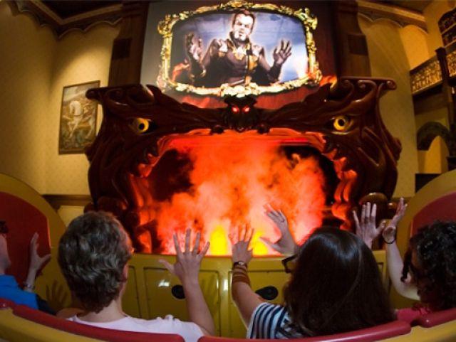 DarkCastle Ride at Busch Gardens