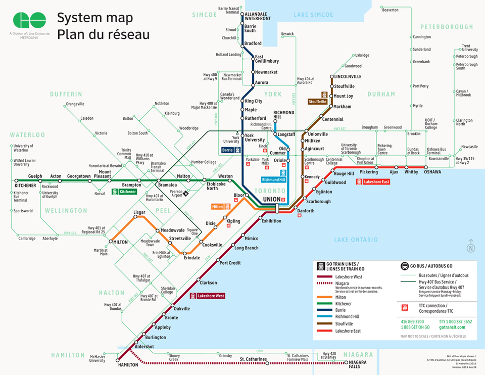 Toronto Go Train Map A Beginner's Guide to GO Transit Toronto Go Train Map