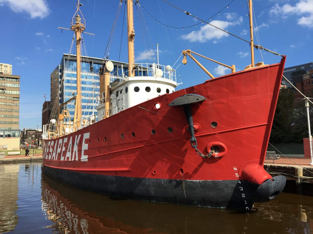 Chesapeake boat