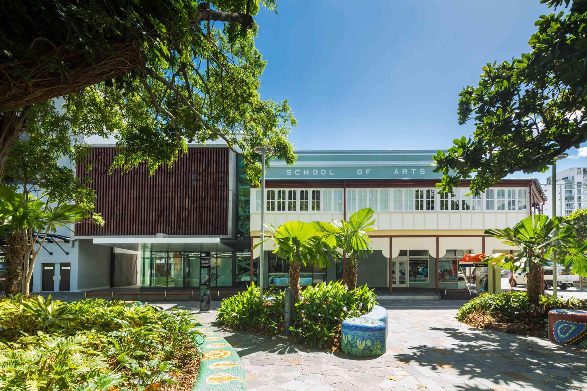 Exterior del Museo de Cairns