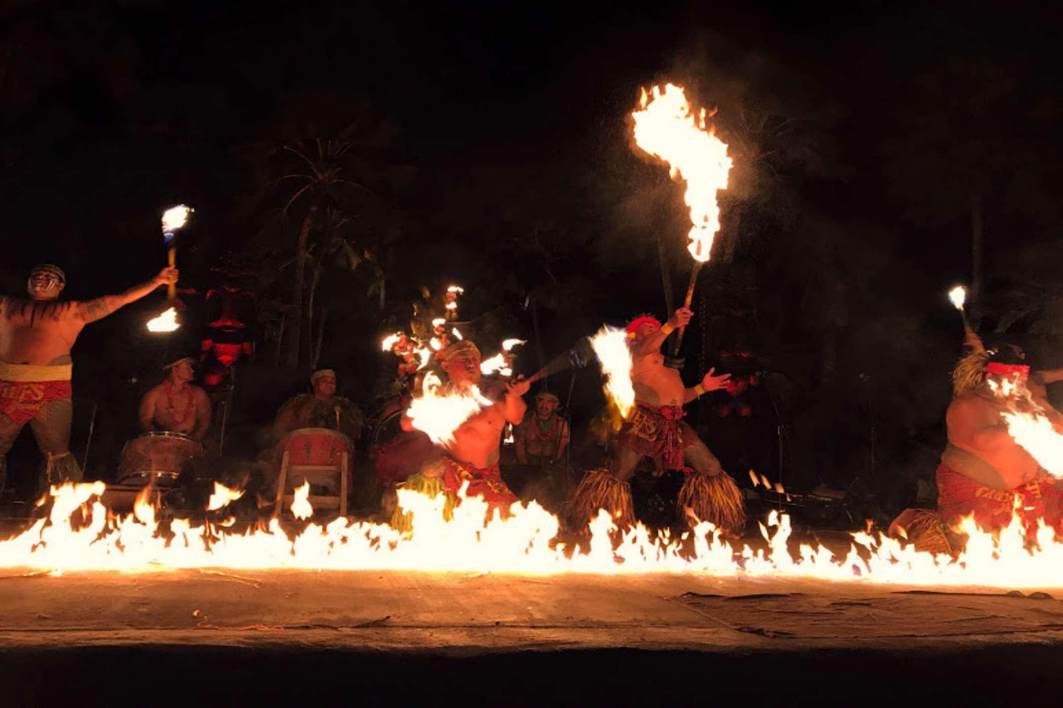 Chief's Luau on Oahu, Hawaii