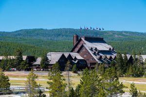 Lodge in Yellowstone