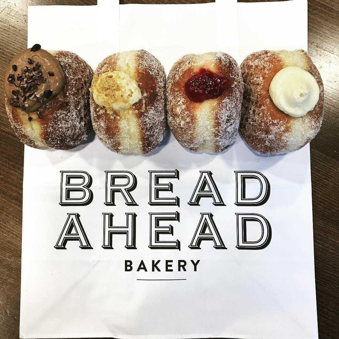 Doughnuts at Bread Ahead Bakery