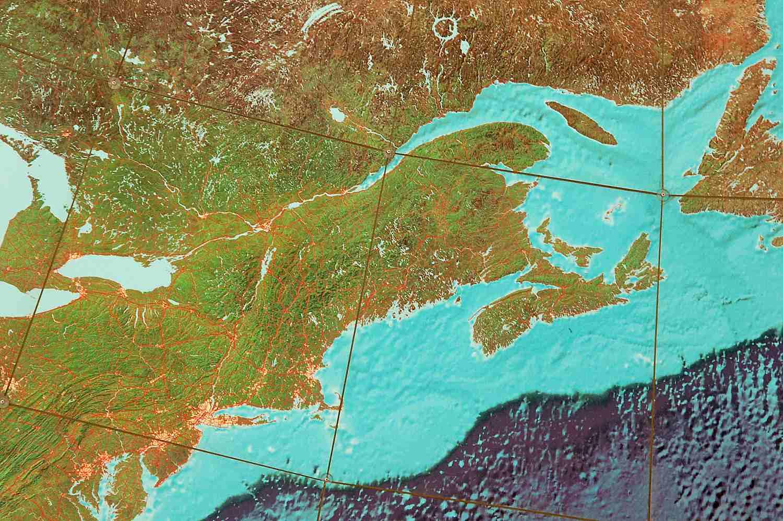 New England on Eartha