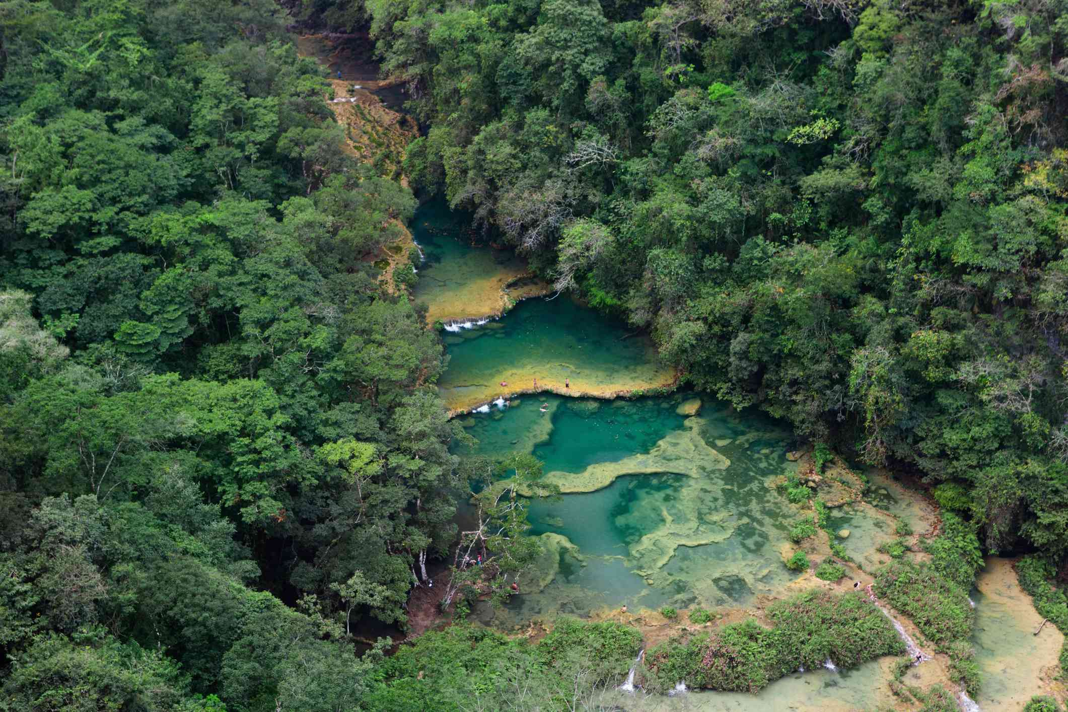 Semuc Champey is famous for it's pools