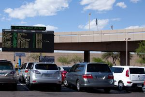 Sky Harbor Cell Phone Lot