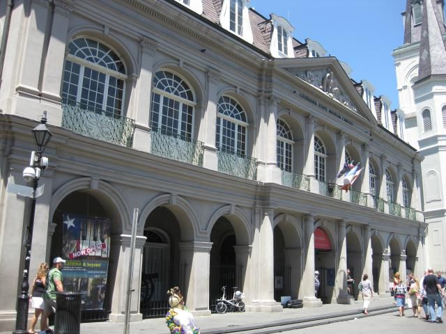 The Cabildo in the French Quarter of New Orleans