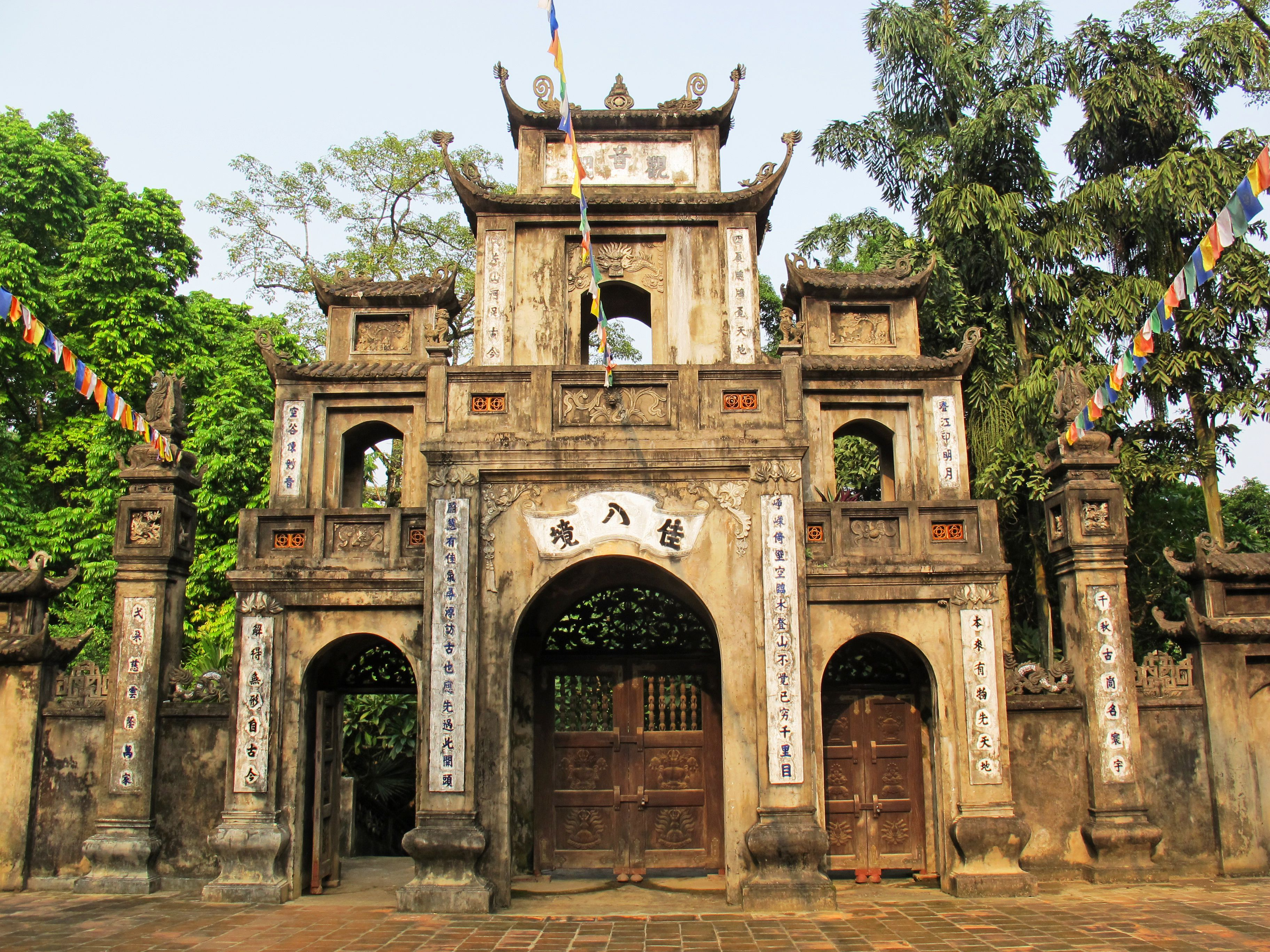 A temple in the Perfume Pagoda Complex