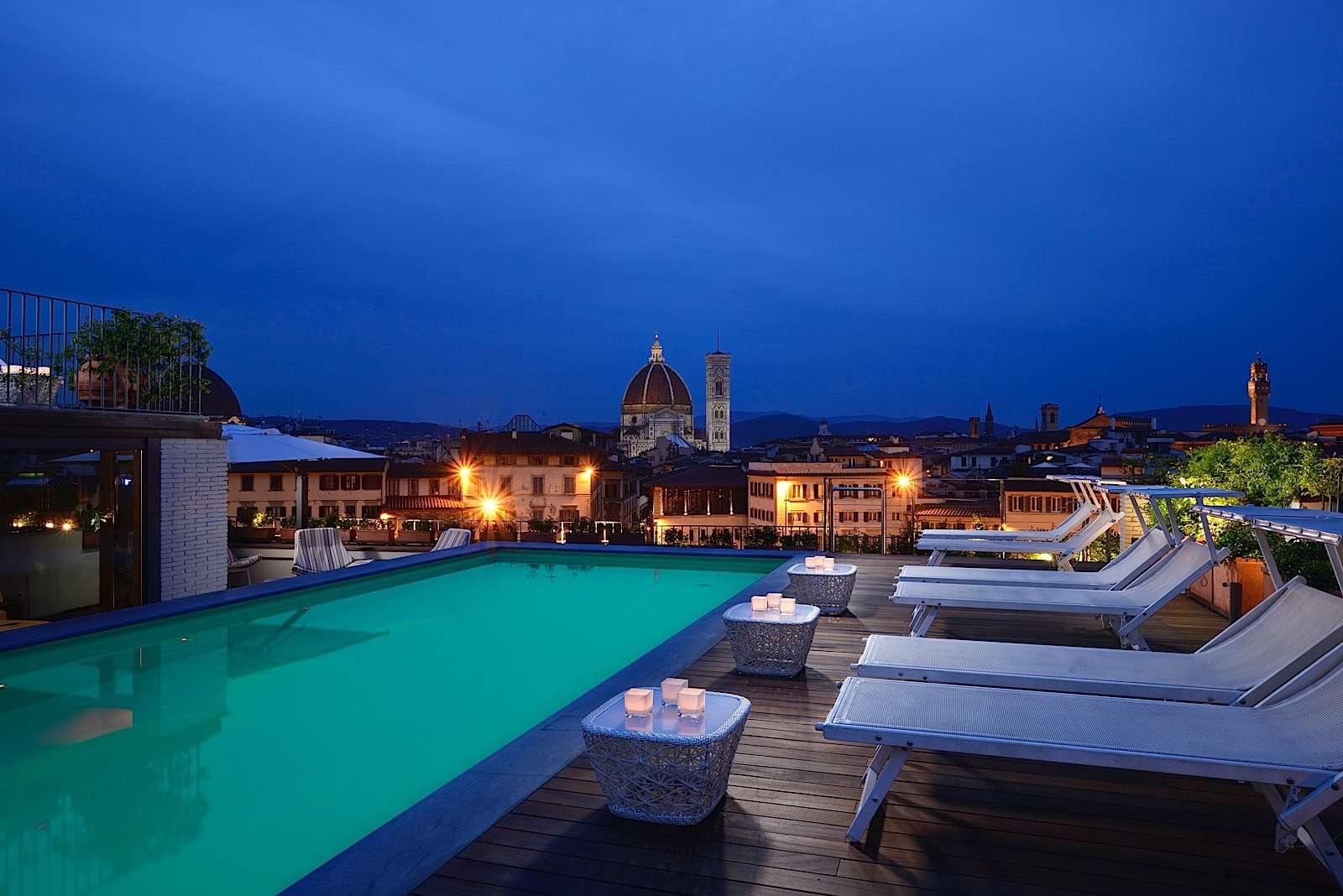 Sky Lounge at Grand Hotel Minerva, Florence