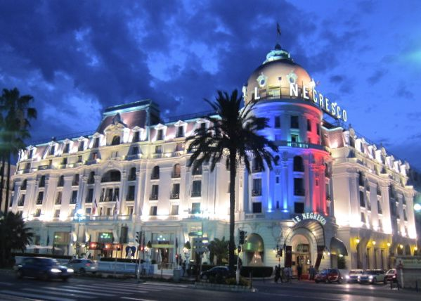 Le Negresco Hotel In Nice On The French Riviera