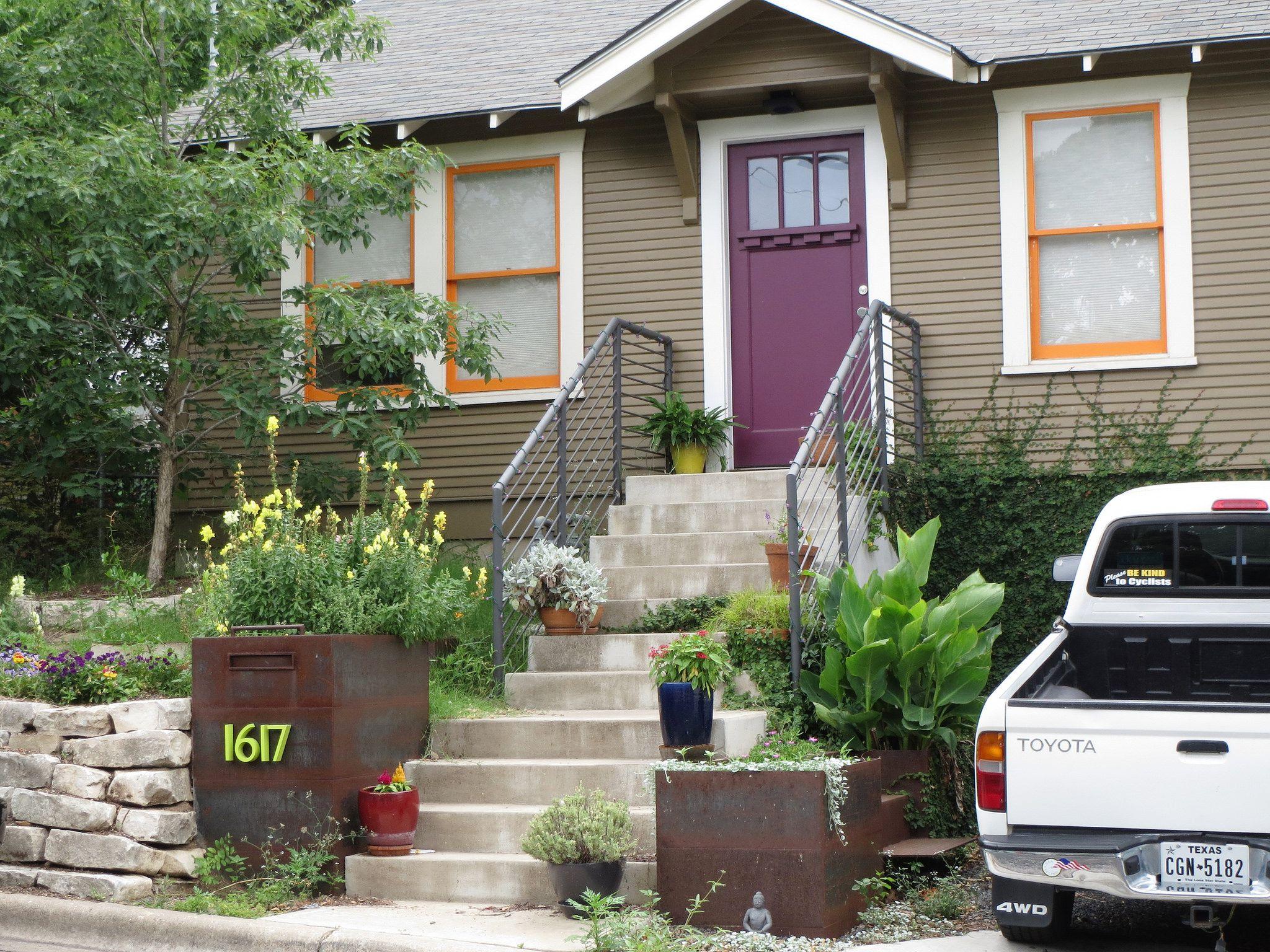 Funky home in the Clarksville neighborhood