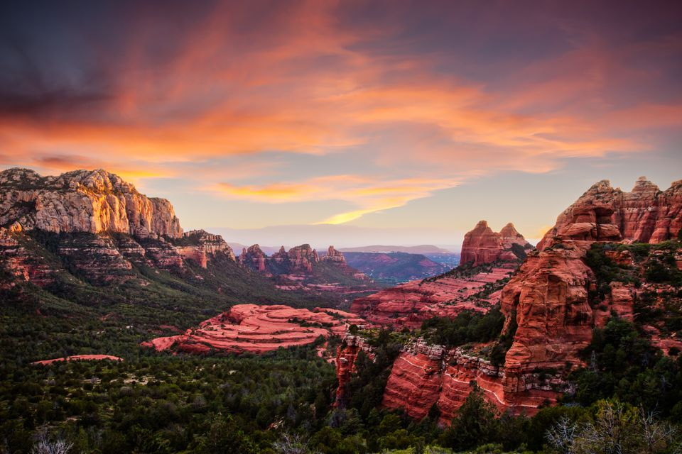 Red Rocks Sunset Sedona