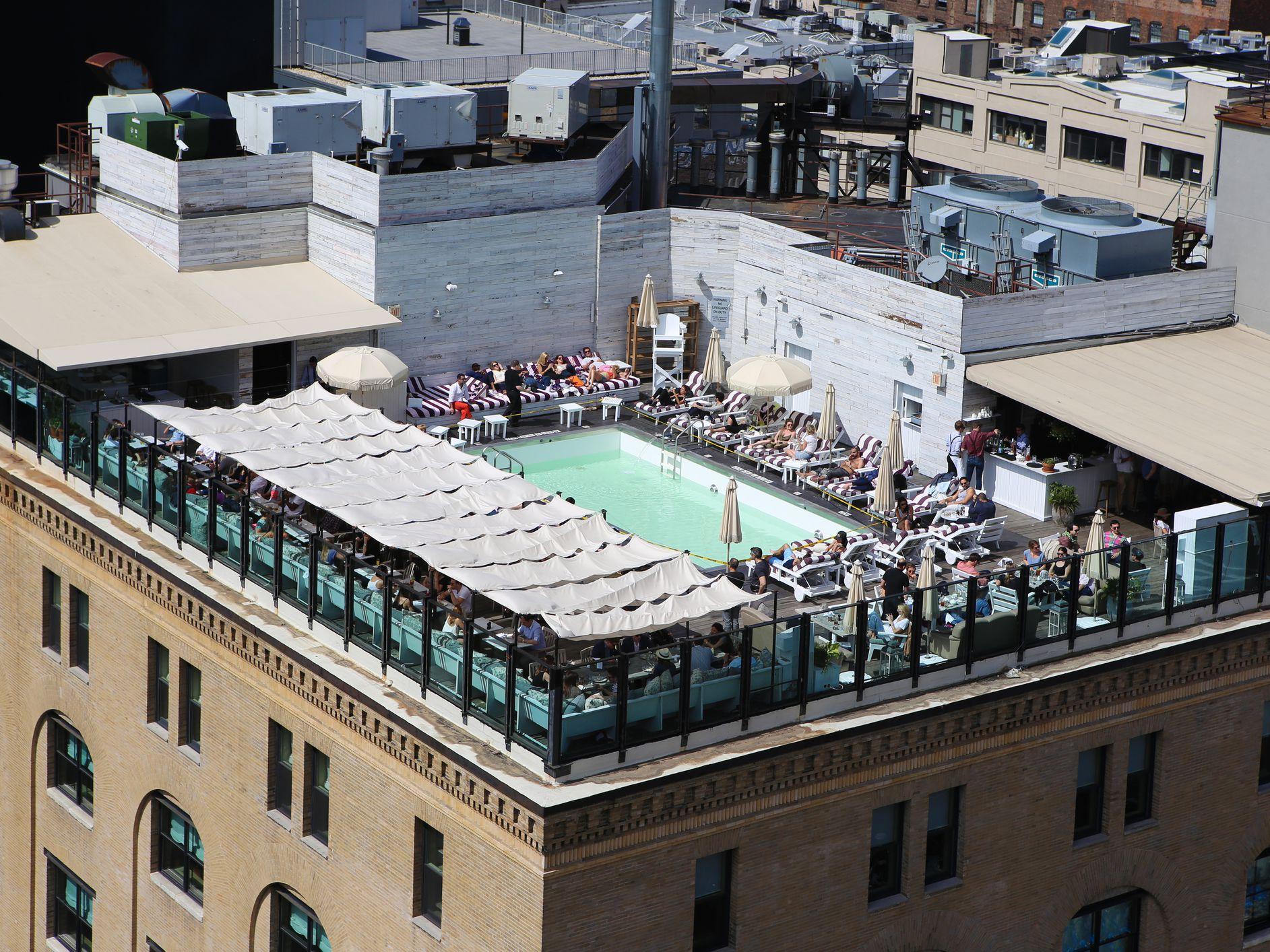 7 Best Hotel Swimming Pools In Manhattan