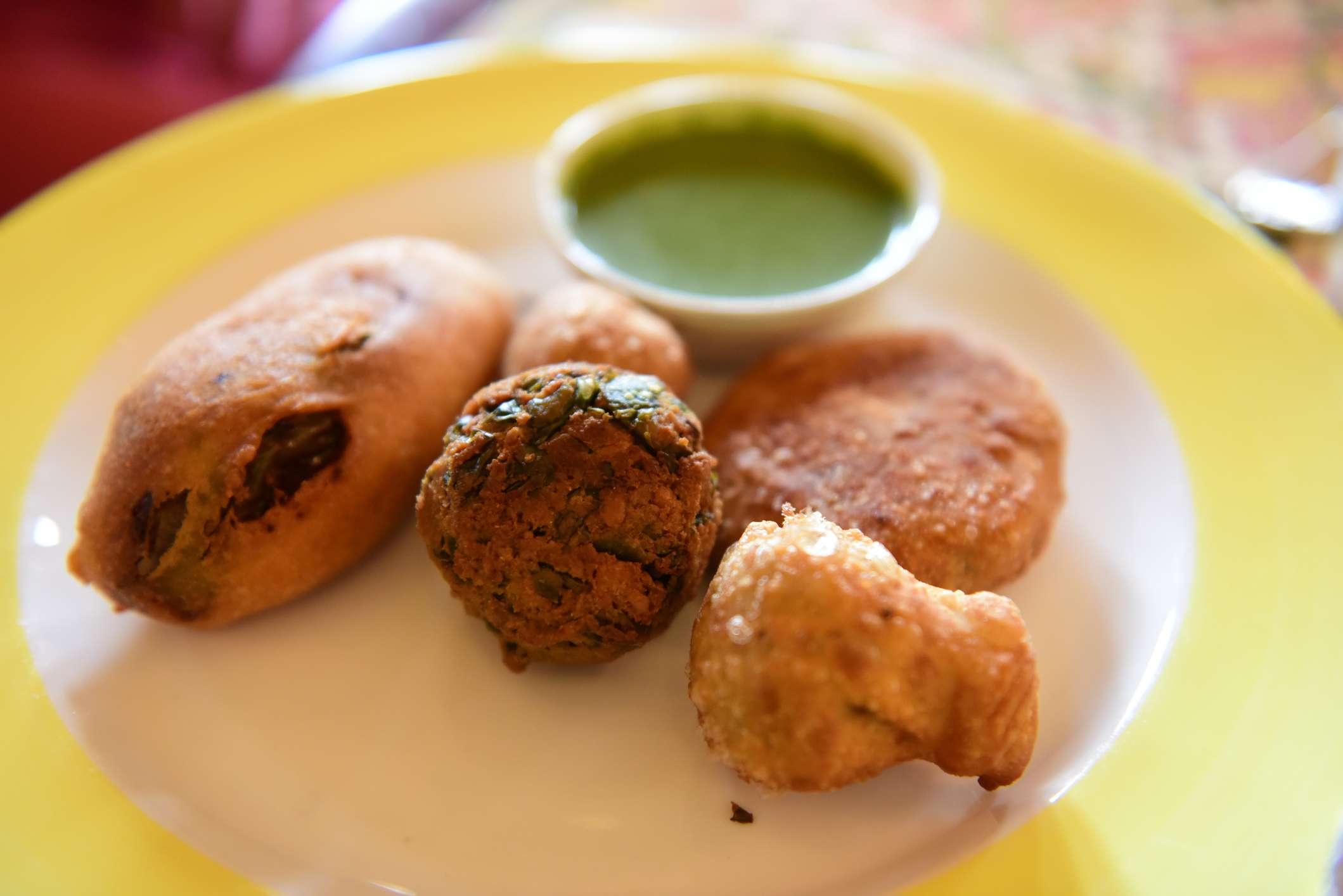 Rajasthani snacks.
