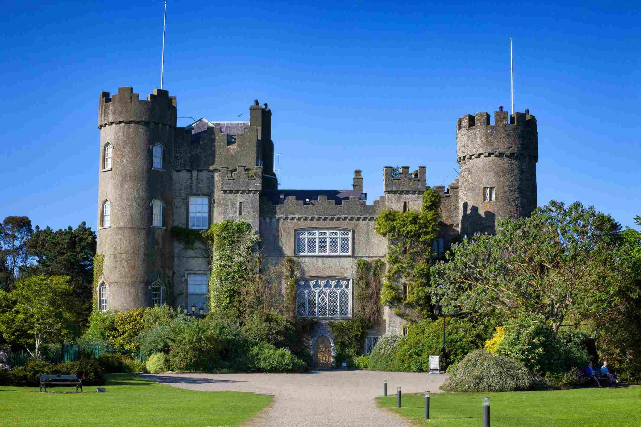 Mahinde Castle near Dublin