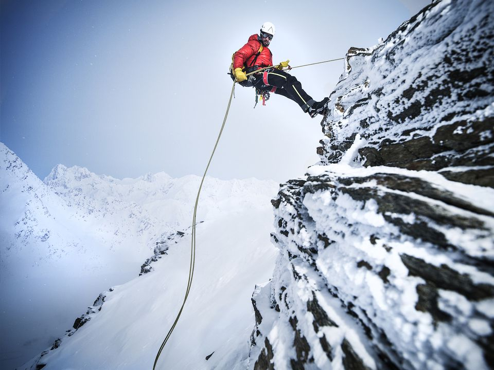 abseiling and rappelling