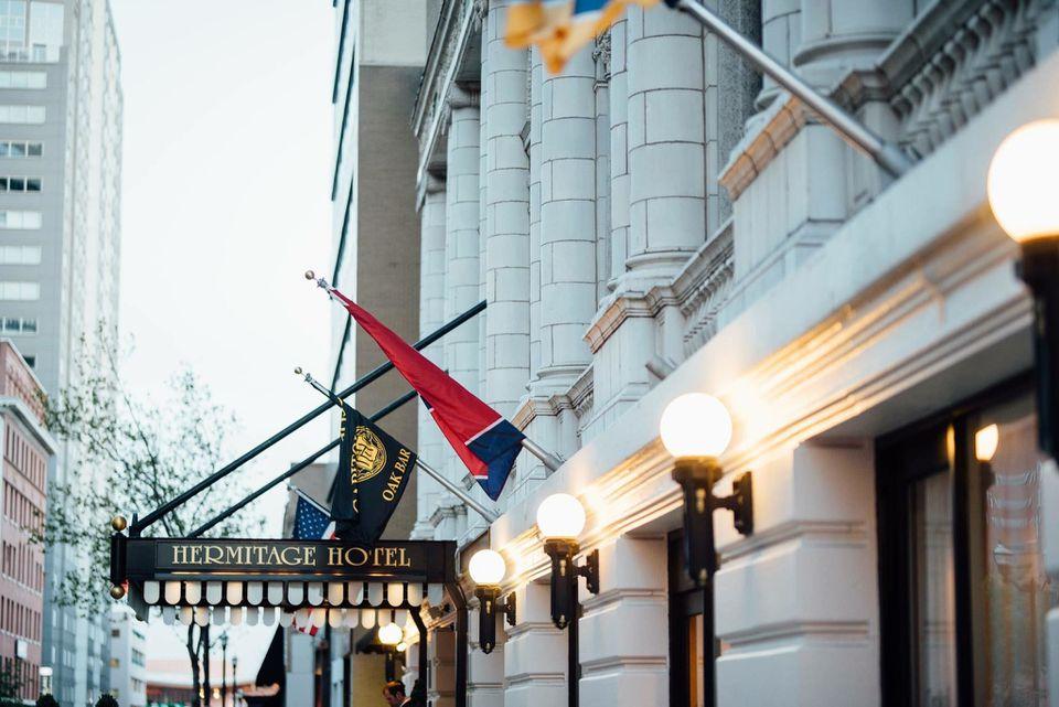 Hermitage Hotel exterior
