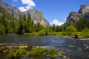 Yosemite National Park in late spring