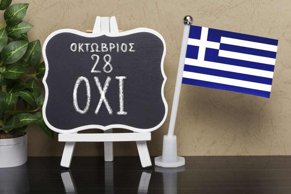 The Ochi Day ,October 28, National Holiday in Greece