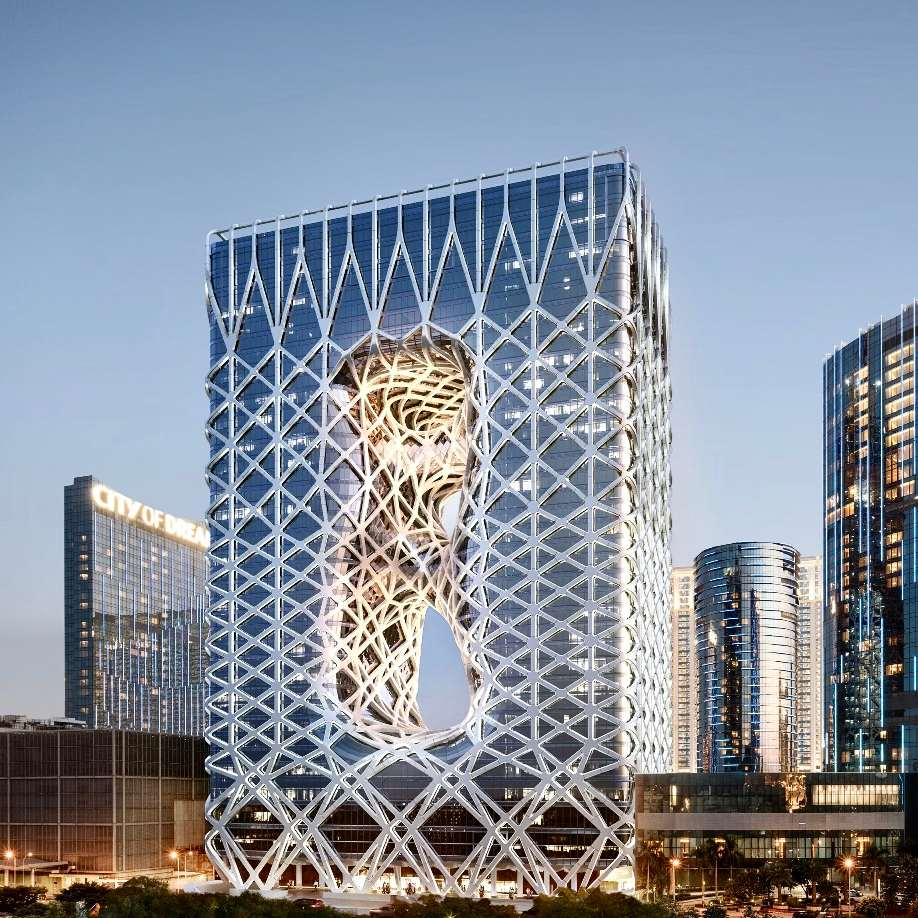 Morpheus in Macau could be the world's most futuristic hotel