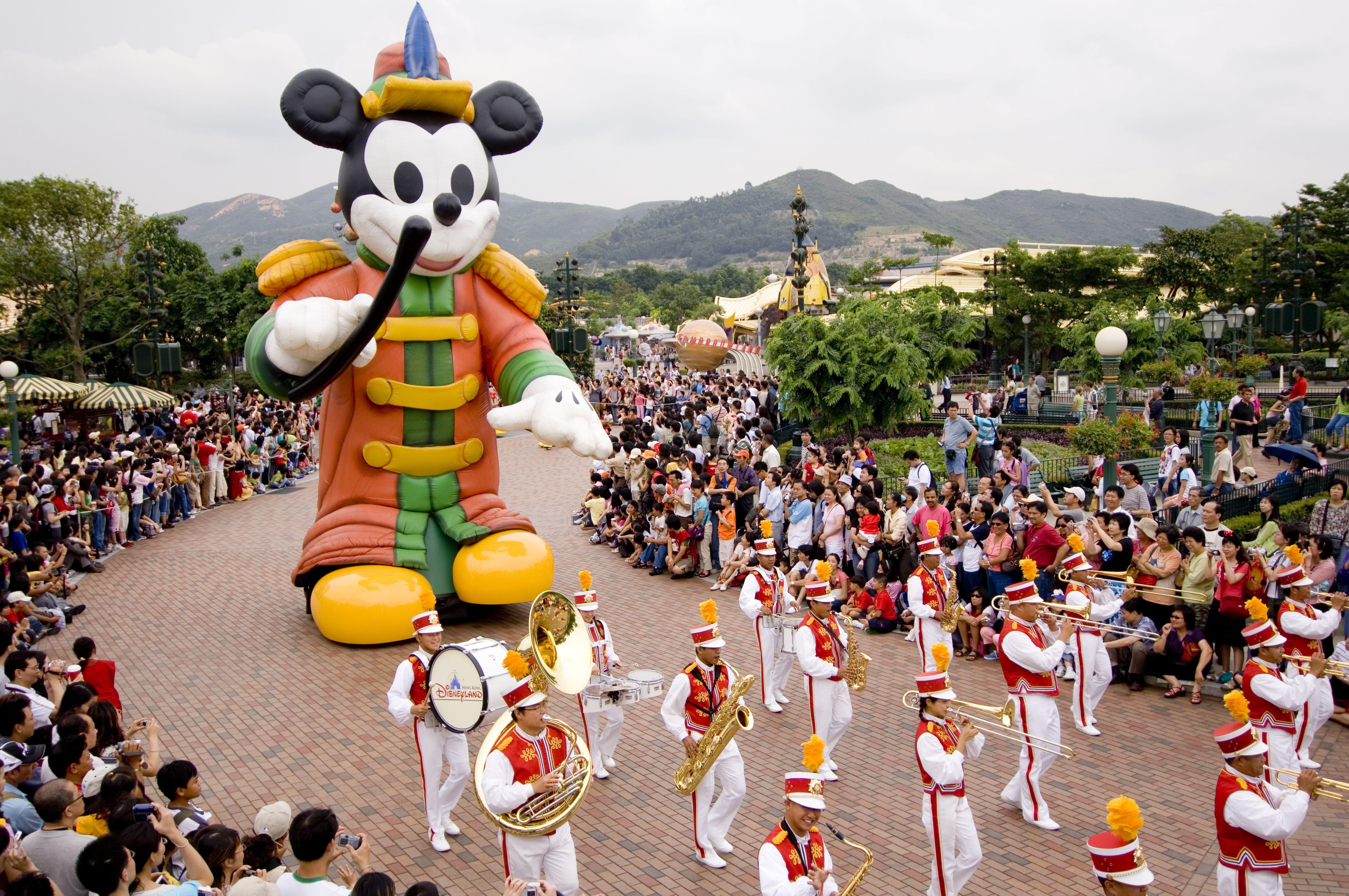 Parade at Hong Kong Disneyland