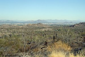 South Mountain Park in Phoenix, AZ