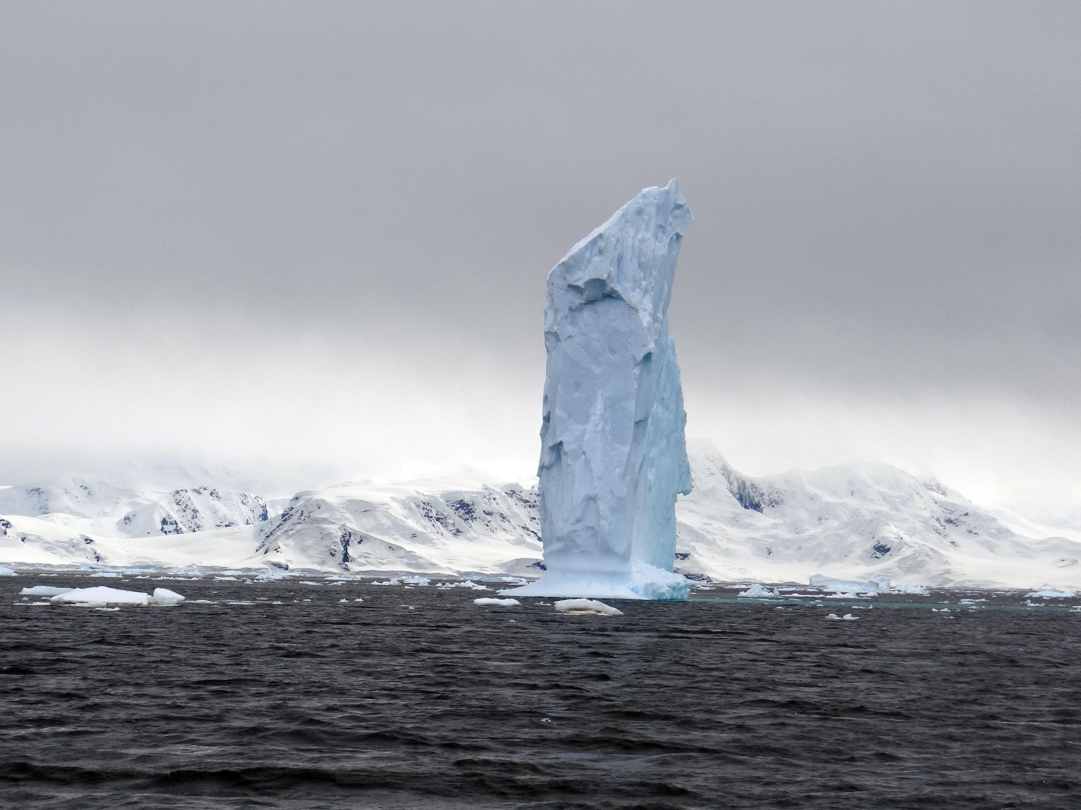 Giant iceberg in Antarctica