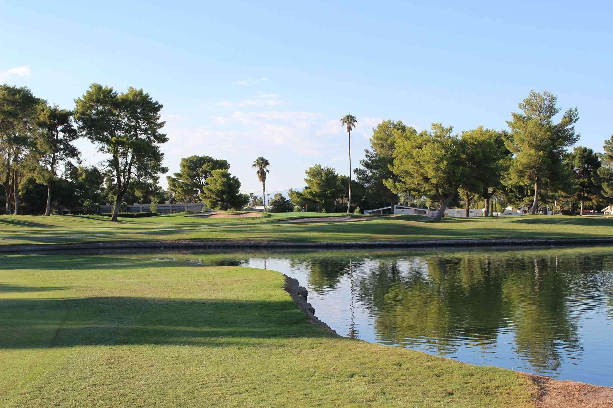 Pond at Las Vegas National Golf Club