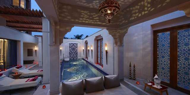 ITC Mughal Hotel has 233 rooms and suites