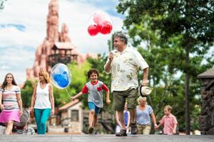 Grandparents and Grandkids at Disney World