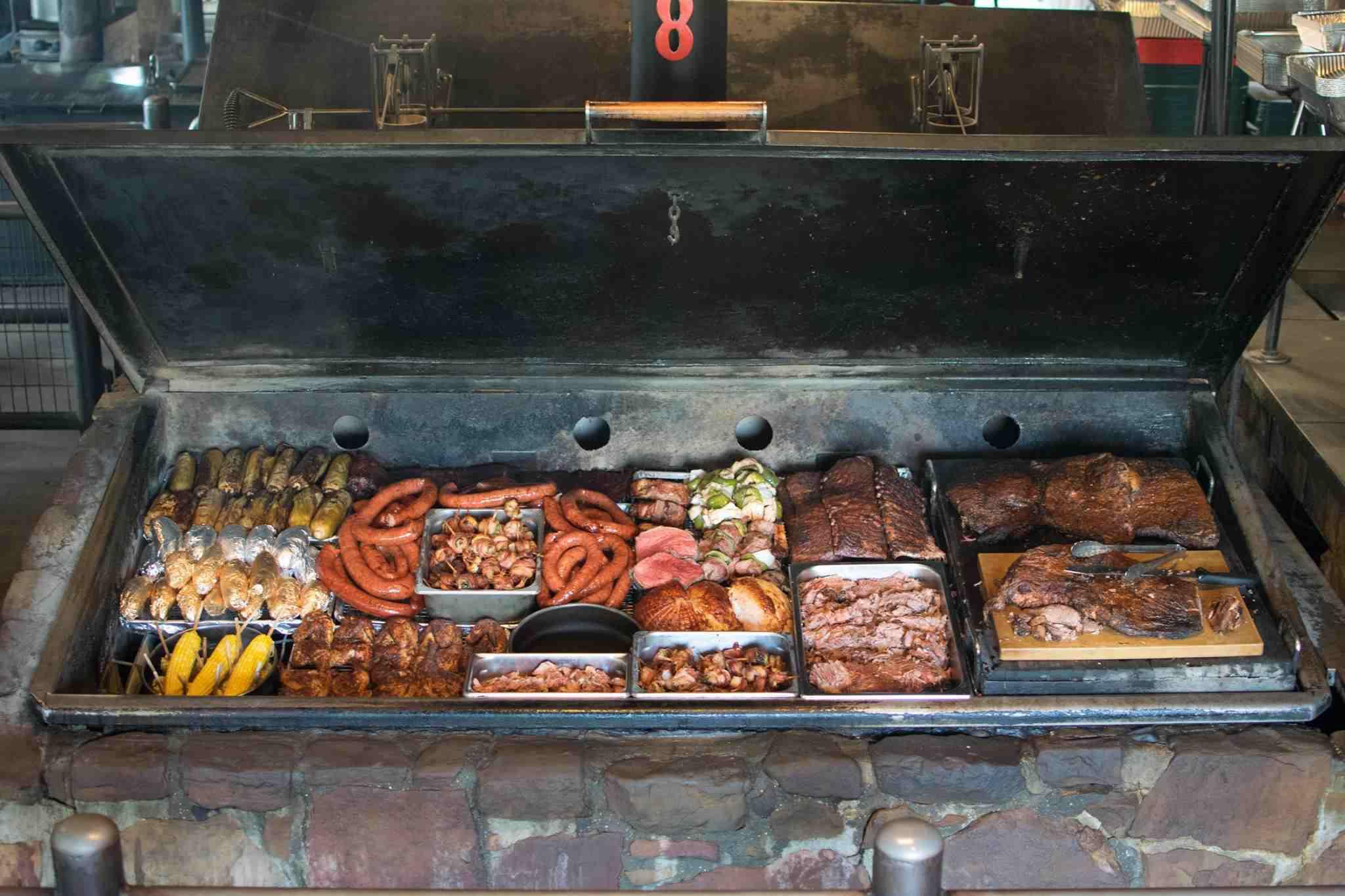 Hard Eight BBQ Grill