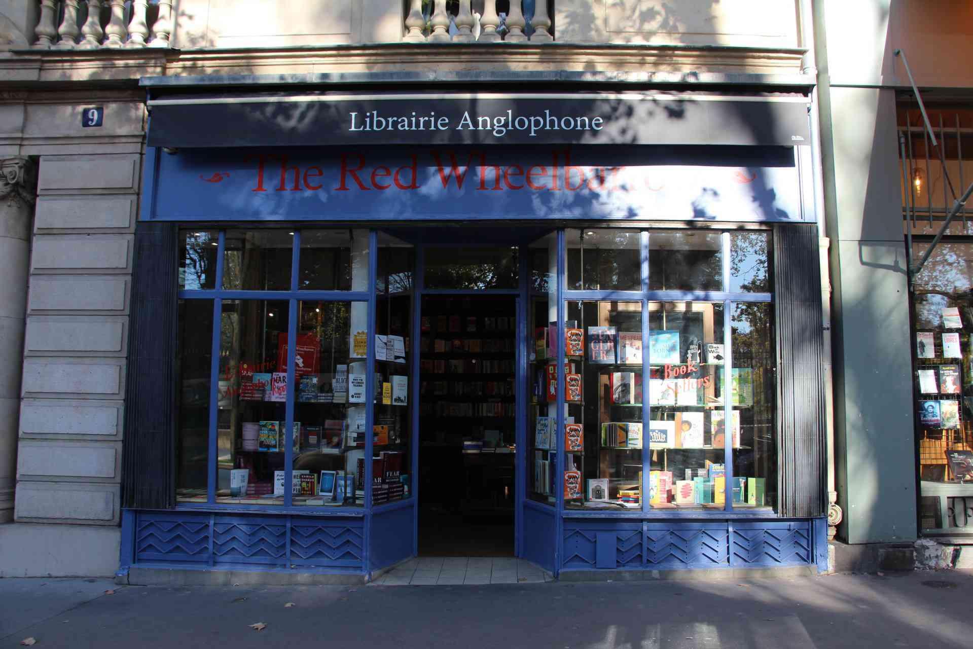 The Red Wheelbarrow bookshop, Paris