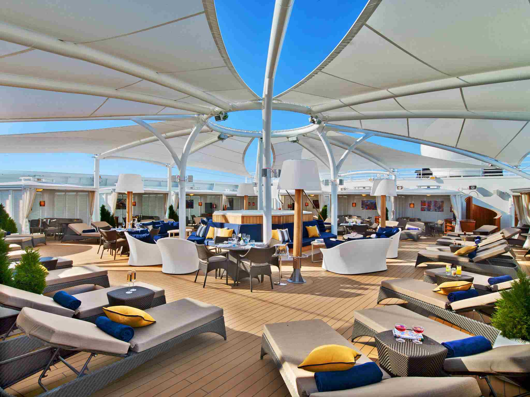 The Retreat on the Seabourn Ovation