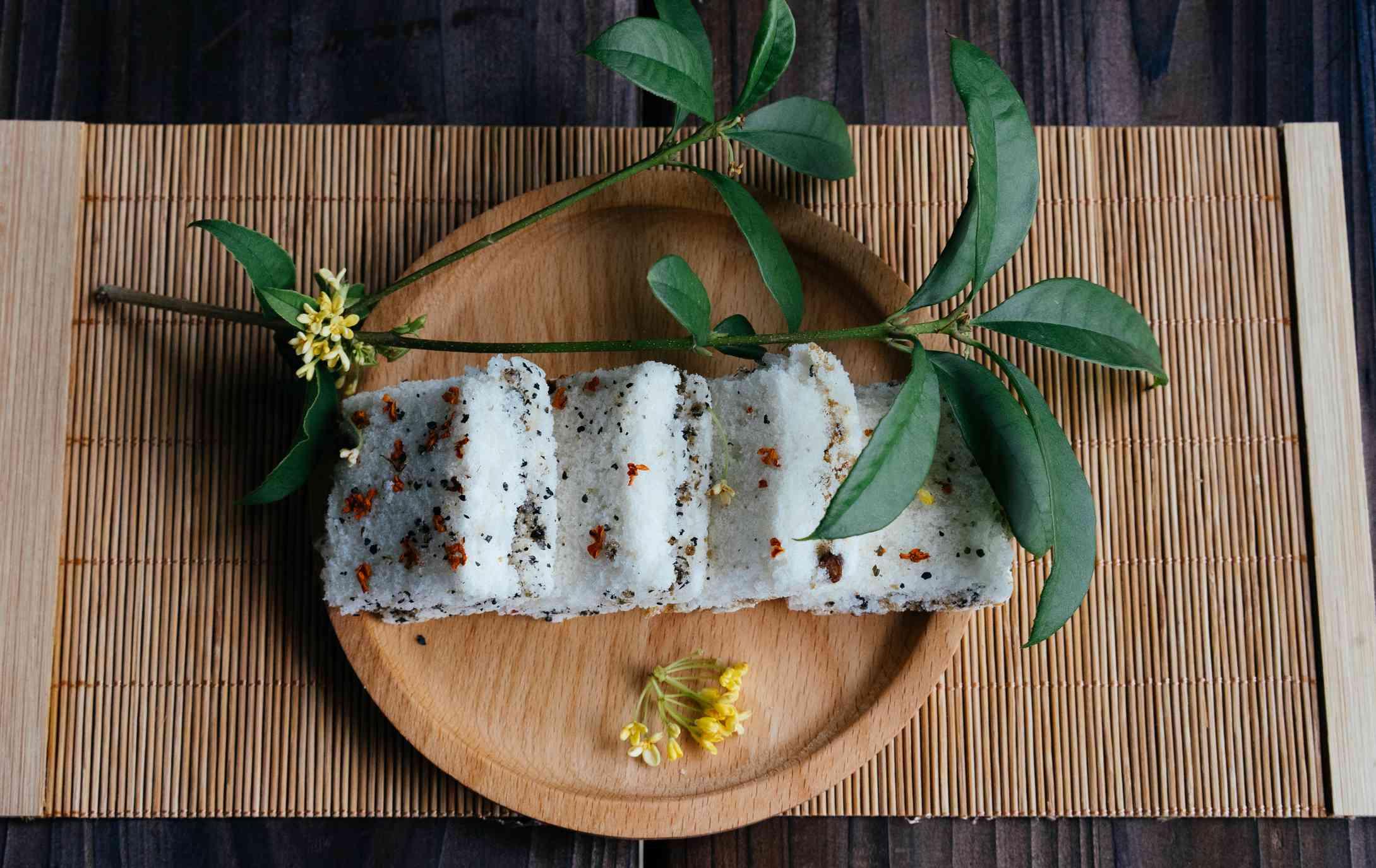 Sweet Chinese Osmanthus Cake