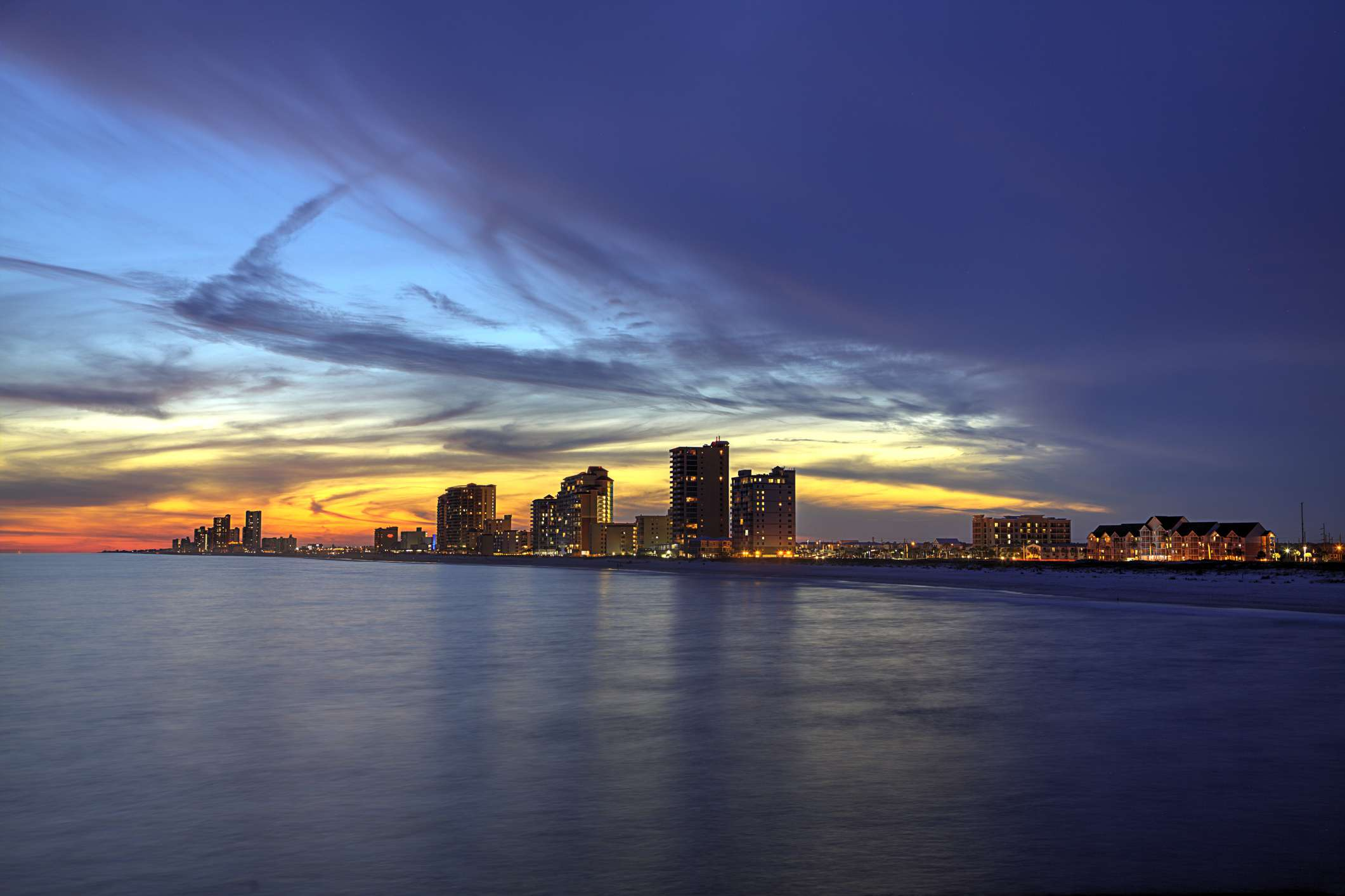 Gulf Shores at Dusk