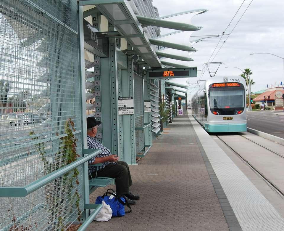 METRO Light Rail in Phoenix