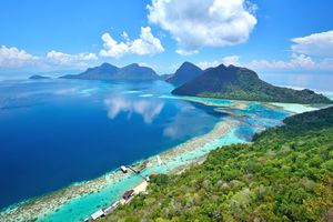 Bohey Dulang, Islands for Diving in Borneo