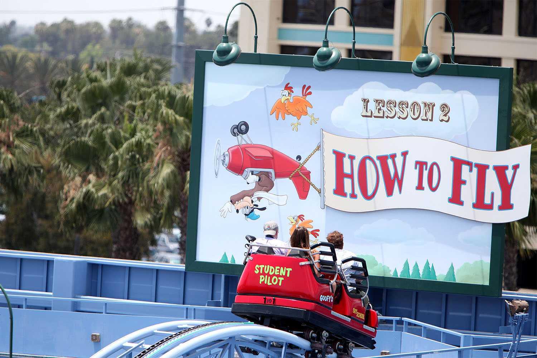 Goofy's Sky School at California Adventure