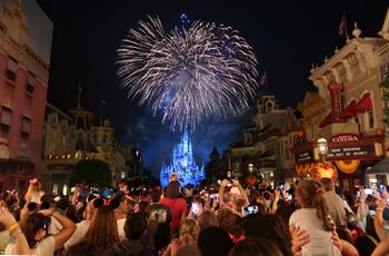 happily ever after fireworks show at walt disney world