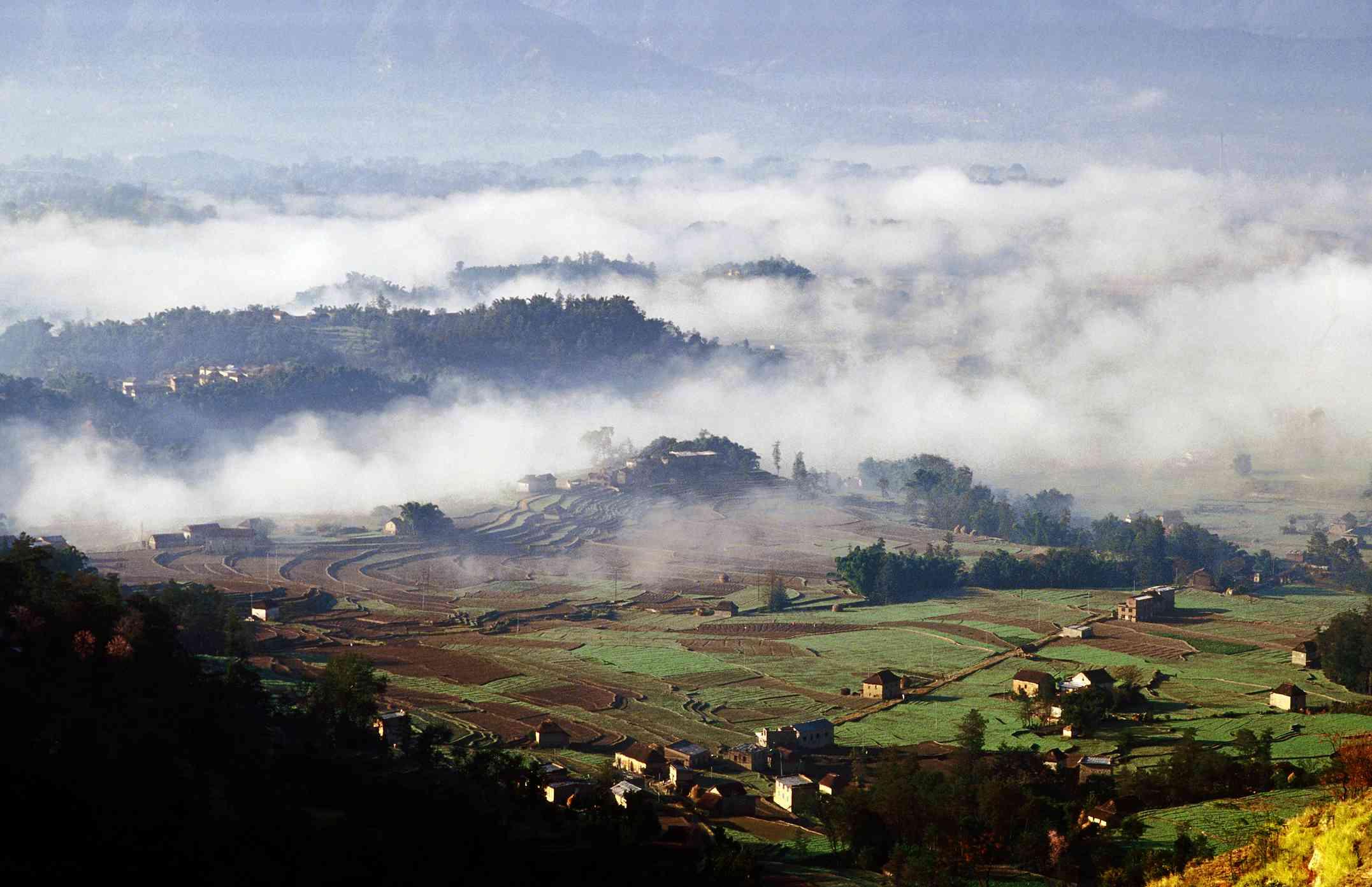 Villages in the Kathmandu Valley.